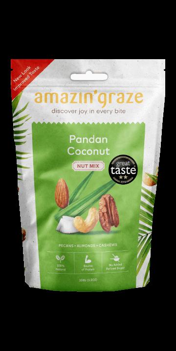 pandan-coconut-nut-mix